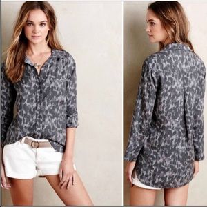 Anthropologie Cloth & Stone Panthera Top